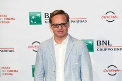 Jon S Baird på den Rome filmfesten 2018 royaltyfria foton