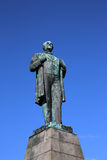 Jon Sigurdsson Statue Royalty Free Stock Images