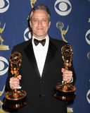 Jon Stewart. In the Press Room at the 2009 Primetime Emmy Awards Nokia Theater at LA Live Los Angeles, CA September 20, 2009 royalty free stock images