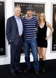 Jon Voight, James Haven and Ashley Reign Stock Photography