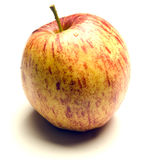 Jonagold apple on white background Royalty Free Stock Photo