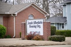 Jonah Affordable Housing Organization. Provides affordable housing solutions for underprivileged,   underserved low-income residents of Jackson, Tennessee Royalty Free Stock Photography