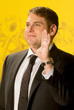 Jonah Hill Foto de Stock