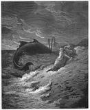 Jonah i wieloryb ilustracji