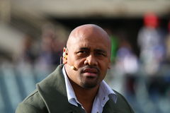 Jonah Lomu, rugby's star, player Royalty Free Stock Image