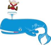 jonah wieloryb ilustracji