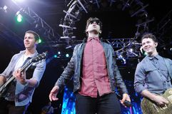 Jonas Brothers royaltyfri foto
