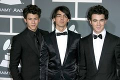 Jonas Brothers Stock Photo