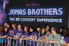 Jonas Brothers Royalty-vrije Stock Foto's
