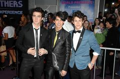Jonas Brothers Royalty-vrije Stock Foto