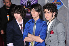 Jonas Brothers Royalty Free Stock Photography