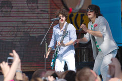 Jonas Brothers Stock Images