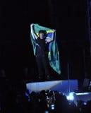 Jonas Brothers in Brazilië Stock Foto's