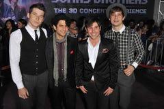 Jonas Brothers, de Maatschappij van de Eer Stock Fotografie