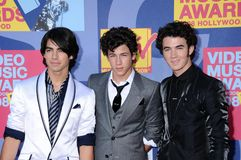 The Jonas Brothers Stock Photography