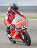 Jonas Folger Moto3 Стоковое Изображение RF