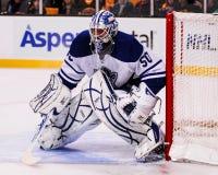 Jonas Gustavsson, Toronto Maple Leafs lizenzfreie stockfotos