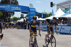 Jonas Jorgensen 2013 Amgen Tour of CA Stock Photo