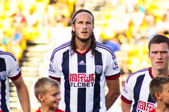 Jonass Olsson West Bromwich Albion Royalty Free Stock Photo