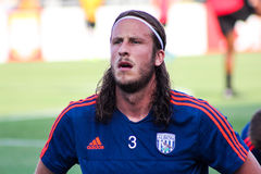 Jonass Olsson, West Bromwich Albion Stock Images