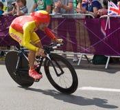 Jonatán Castroviejo Nicolás en las Olimpiadas Fotos de archivo