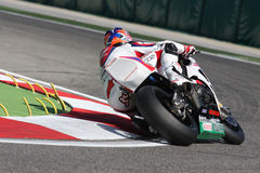 Jonatán Rea - Honda CBR1000RR - mundo de Honda estupendo Imagen de archivo