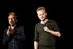 Jonatan Spang & Mikael Wulff Stock Images
