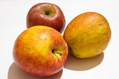 Jonathan apples stock photos