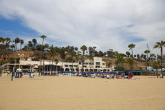 Jonathan Beach Club Santa Monica CA Royaltyfri Bild