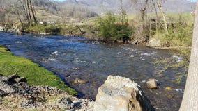 Jonathan Creek i Maggie Valley arkivfoto