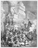 Jonathan Destroys the Temple of Dagon Royalty Free Stock Photo