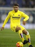 Jonathan dos Santos van Villareal-het CF Stock Foto