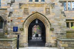 Jonathan Edwards College, Yale University, CT, EUA Imagens de Stock