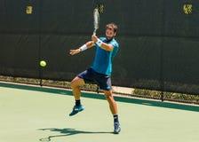 Jonathan Eysseric lekar i qualifer på Winston-Salem Open Arkivfoton