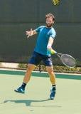 Jonathan Eysseric-spelen in qualifer in Winston-Salem Open Stock Fotografie