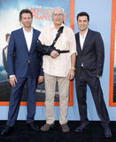 Jonathan Goldstein, John Francis Daley and Chevy Chase Stock Photos