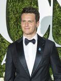 Jonathan Groff. Actor Jonathan Groff arrives for the 71st Annual Tony Awards at Radio City Music Hall in New York on June 11, 2017.  The event, televised Royalty Free Stock Images