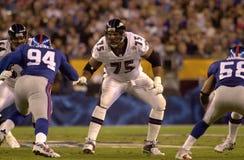 Jonathan Ogden, Super Bowl XXXV Imagens de Stock Royalty Free