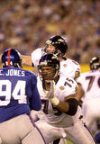Jonathan Ogden, Super Bowl XXXV. Baltimore Ravens OL Jonathan Ogden during Super Bowl XXXV.  (Image taken from color slide Stock Photography