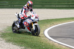 Jonathan Rea #65 on Honda CBR1000RR with Pata Honda World Superbike Team Superbike WSBK Stock Photo