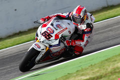 Jonathan Rea #65 on Honda CBR1000RR with Pata Honda World Superbike Team Superbike WSBK Royalty Free Stock Photo