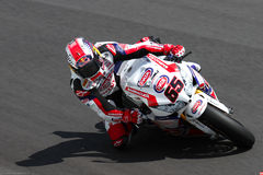 Jonathan Rea #65 on Honda CBR1000RR with Pata Honda World Superbike Team Superbike WSBK Stock Photos