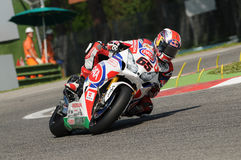 Jonathan Rea Honda CBR1000RR SBK PATA Honda World Superbike Team Imola SBK 2014 stock photography