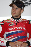 Jonathan Rea - Honda CBR1000RR - Honda-Welt Super Lizenzfreies Stockfoto