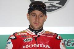 Jonathan Rea - Honda CBR1000RR - Honda-Welt Super Stockbild