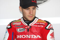 Jonathan Rea - Honda CBR1000RR - Honda World Super Royalty Free Stock Images