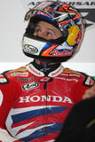 Jonathan Rea - Honda CBR1000RR - Honda World Super Royalty Free Stock Photo