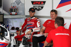 Jonathan Rea - Honda CBR1000RR - Honda World Super Stock Image
