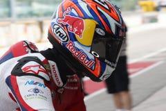 Jonathan Rea - Honda CBR1000RR - Honda World Super Royalty Free Stock Images
