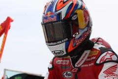Jonathan Rea - Honda CBR1000RR - Honda World Super Royalty Free Stock Photography